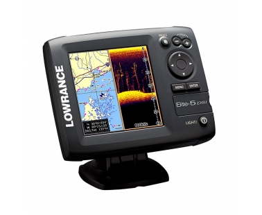 Эхолот/картплоттер/навигатор Lowrance Elite 5 DSI