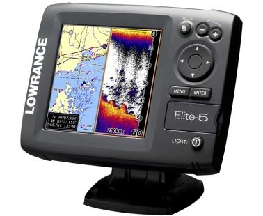 Эхолот-картплотер-навигатор Lowrance Elite 5