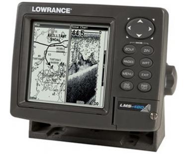 Эхолот/картплоттер/навигатор Lowrance LMS 480 DF