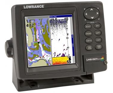 Эхолот/картплоттер/навигатор Lowrance LMS 527c