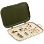 Aquatech 2100 коробка для приманок с мягким вкладышем