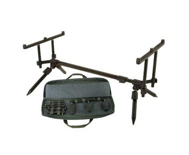 Род-под Fox Stalker Plus Pod inc Case and 2x3-rod Buzzer Bars