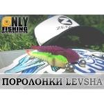 Небольшой обзор-отчет о ловле на поролоновые приманки Levsha NN