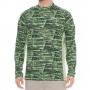 Худи Simms SolarFlex Print Shirt UPF 50+ (L) Water Print Lawn