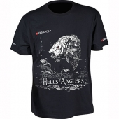 Футболка Dragon Hells Anglers Карп Черная PGD-TS-28