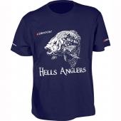 Футболка Dragon Hells Anglers Карп Темно-синий PGD-TS-38