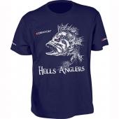 Футболка Dragon Hells Anglers Окунь Темно-синий PGD-TS-34