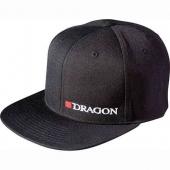 """Кепка Dragon Hells Anglers """"Dragon"""" Flat Front Черная"""