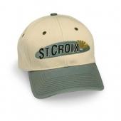 St.Croix Two-Tone Canvas Logo Cap