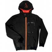 Fox Black Orange Hoodie