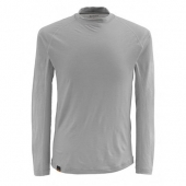 Simms Montana Wool Core Crewneck Pebble