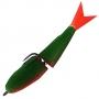 Поролонка Acoustic Baits 85mm двусоставная #Dark Green - 1шт