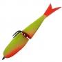 Поролонка Acoustic Baits 85mm двусоставная #Yellow  - 1шт