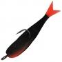 Поролоновая рыбка Acoustic Baits 75mm паянная #Black - 1шт