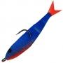 Поролоновая рыбка Acoustic Baits 75mm паянная #Blue - 1шт
