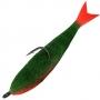 Поролоновая рыбка Acoustic Baits 75mm паянная #Dark Green - 1шт