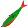 Поролоновая рыбка Acoustic Baits 60mm паянная #Fluo Green - 1шт