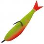 Поролоновая рыбка Acoustic Baits 75mm паянная #Yellow  - 1шт