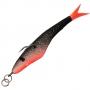 Поролоновая рыбка Acoustic Baits Slag 100mm #Black
