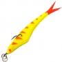 Поролоновая рыбка Acoustic Baits Slag 100mm #Yellow Tiger
