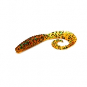 "Силикон Bait Breath Curly Grub 3.5"" Ur24"