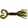 Силикон Big Bite Baits Double Tail Skirted Grub 5 #Watermelon Red Flake -1шт