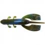 Силикон Big Bite Baits Yo Daddy 3 #Green Pump Blu Swirl -1шт