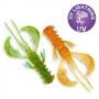 """Силикон Crazy Fish Nimble 5"""" #5d Orange Chart"""