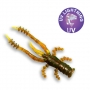 "Crazy Fish Crayfish 1.8"" #14 UV Motor Oil"