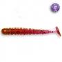 Силикон Crazy Fish Vibro Worm 2 #12 Ultraviolet