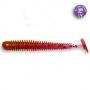 Crazy Fish Vibro Worm 2 #12 Ultraviolet