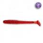 Силикон Crazy Fish Vibro Worm 3 #11 Ruby