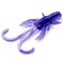 "Силикон FishUp Baffi Fly 1.5"" #060 Dark Violet/Peacock & Silver"