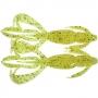 Силикон Keitech Crazy Flapper 3.6 #PAL01 chartreuseredflake