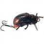 Воблер жук Хрущ Темный LUX 33мм 3,3г