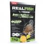 Прикормка Real Fish Silver Series Фидер Бисквит-Ваниль 1кг