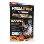 Прикормка Real Fish Silver Series Плотва Миндаль-Ваниль 1кг