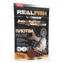 Прикормка Real Fish Silver Series Плотва Мотыль 1кг