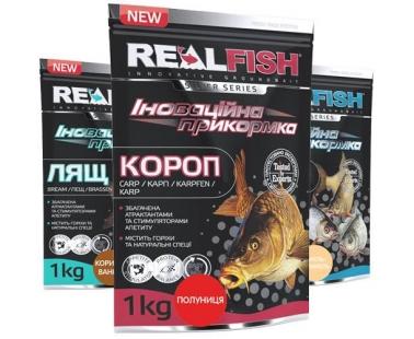 Прикормка Real Fish Silver Series
