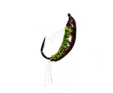 Мормышка безмотылка Strike Woven Shrimp