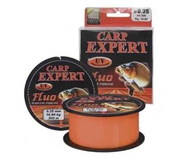 Леска Carp Expert Fluo Orang 300