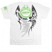 Dress T-shirt Fishing Arms