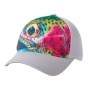 Simms Flexfit Trucker DeYoung Rainbow Trout