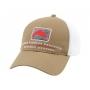 Simms Trout Trucker Cap Coffee