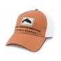 Simms Trout Trucker Cap Orange