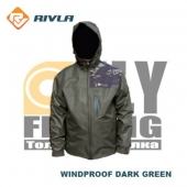 RIVLA S3 Windproof Dark Green