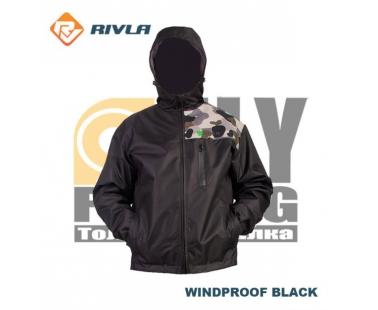 Куртка RIVLA S3 Windproof Black