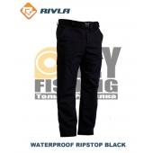RIVLA Waterproof Ripstop Black