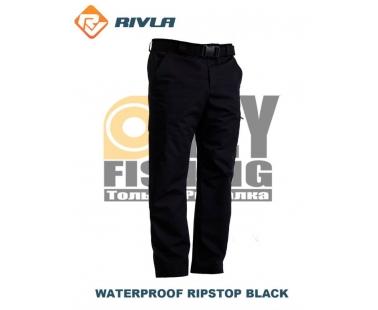 Штаны RIVLA Waterproof Ripstop Black