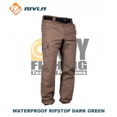 RIVLA Waterproof Ripstop Dark Green